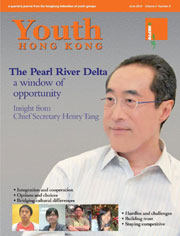 The Pearl River Delta: a window of opportunity